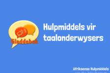 Gladdebek – Hulpmiddels vir taalonnies